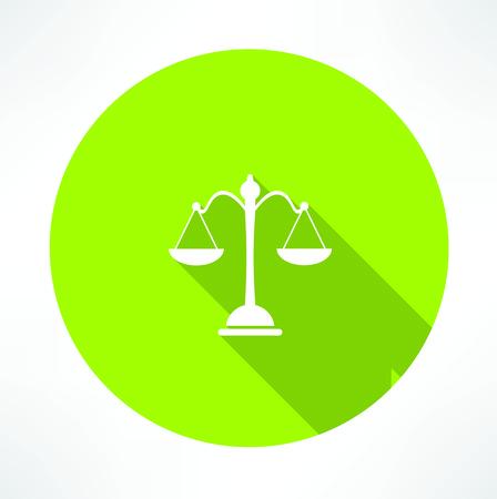 acquittal: Law symbol,vector