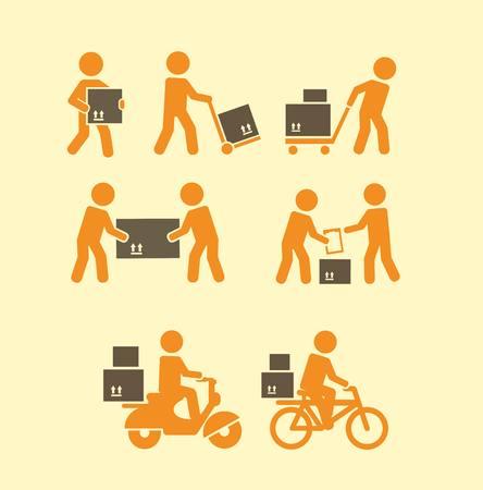motorrad frau: Träger Symbol