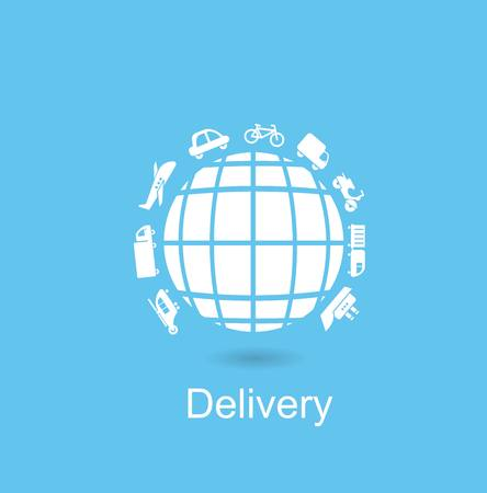 Delivery icon Illustration