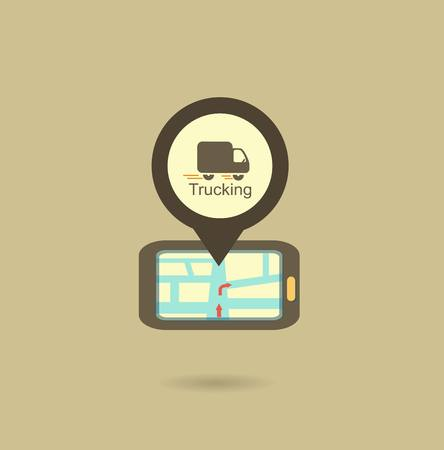 good time: truck navigator icon