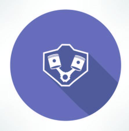 internal combustion engines icon  イラスト・ベクター素材