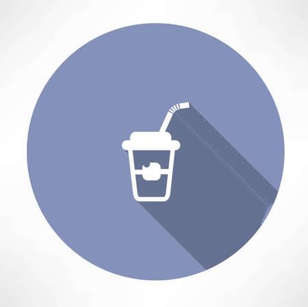 softdrink: Soft drink icon Illustration
