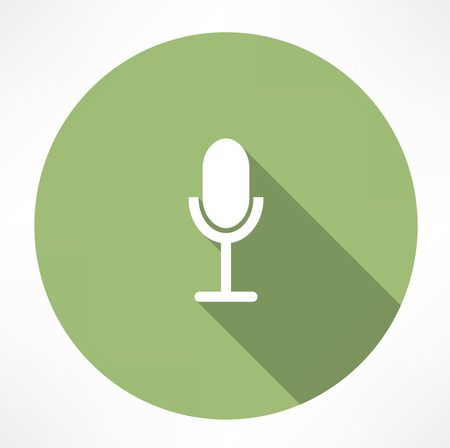 oldie: Retro microphone icon