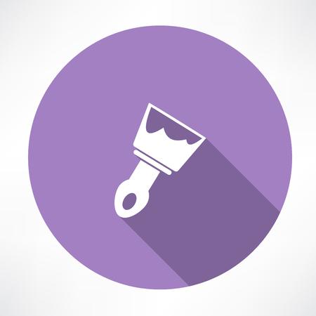 bricklayer: trowel icon