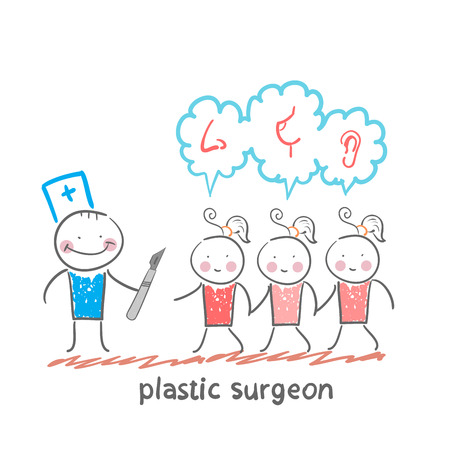 patients: plastic surgeon patients and listens to their wishes
