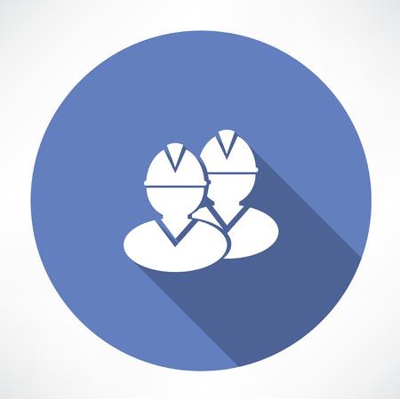 site: builders icon Illustration