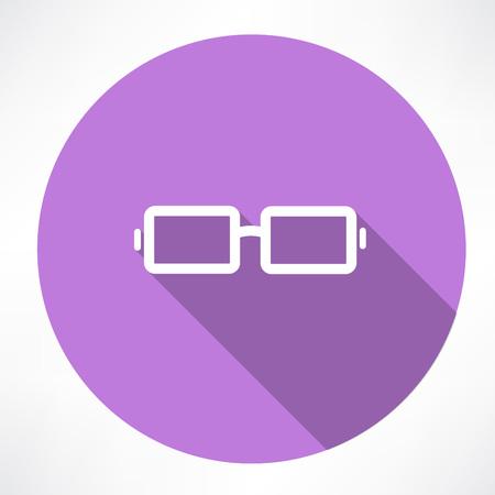 Vector Glasses Icon Vector