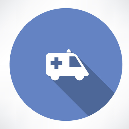 auto service: ambulance icon