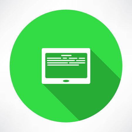 databank: E-Book Reader Icon