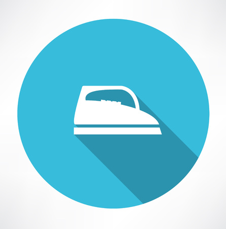 Steam iron icon