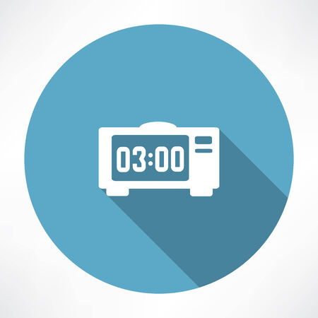 electronic: electronic clock icon
