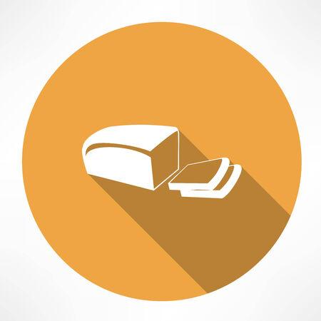 Bread icon Ilustracja