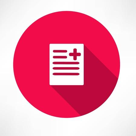 medical report: medical report, document