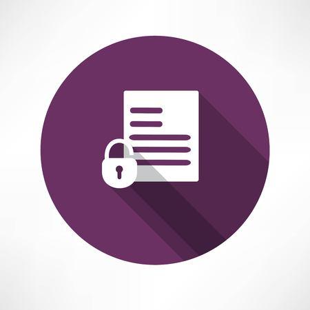 open document icon Vector