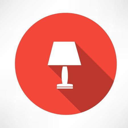 nightlight lamp icon Vector