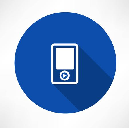 earbud: Portable musical player icons