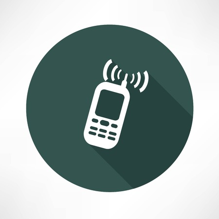 electronic device: mobile phone calling icon
