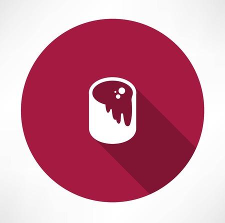 paintbucket: paint bucket icon Illustration