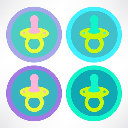 reassure: baby pacifier icon