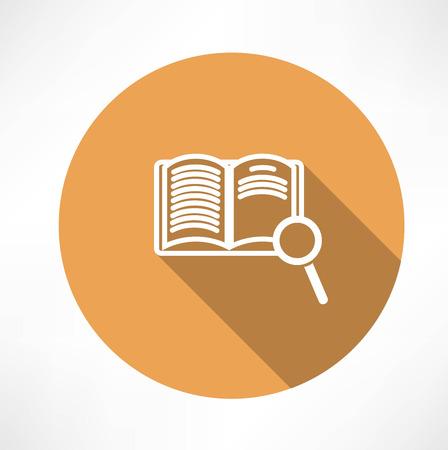 Sear The Book icon Vector