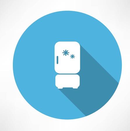 market place: Refrigerator icon