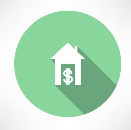 house and money icon