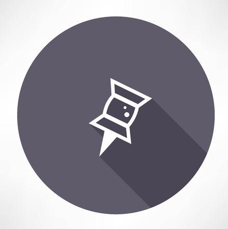 pad: Pushpin icon