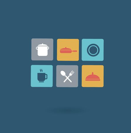 tableware icon Illustration