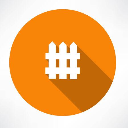 Fence icon Banco de Imagens - 32481227