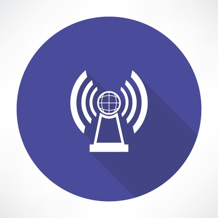 radio station icon Vector