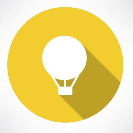 inflar: icono de globo