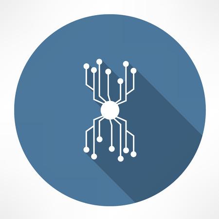chip icon Vector