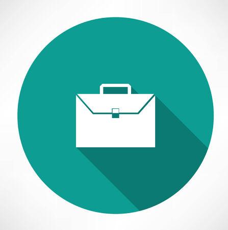 brief case: briefcase icon