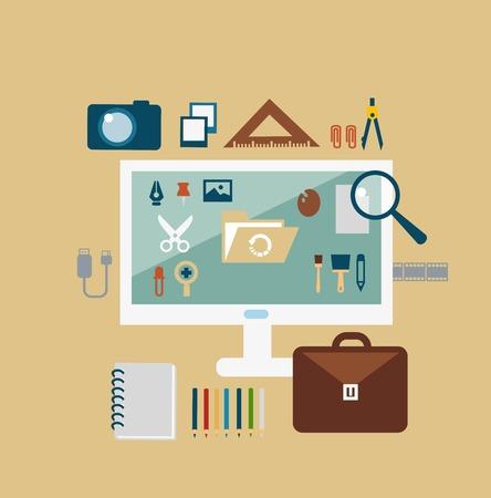 jobsite: designer illustration