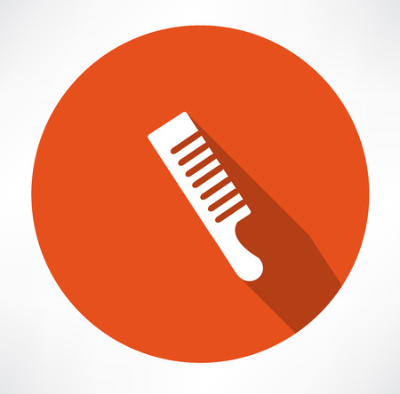 personal grooming: Comb icon