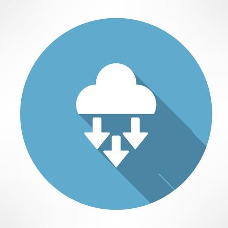 inclement: precipitation icon