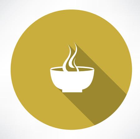 hot plate: Icono de la placa caliente