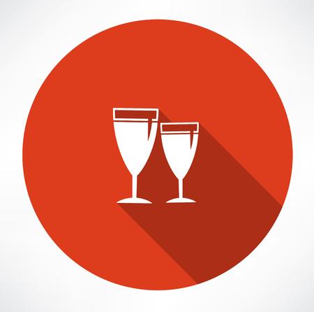 scotch: vector wineglass icons