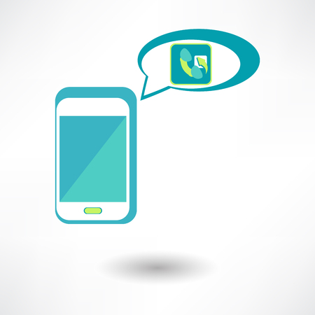 Vector Phone Call Icon