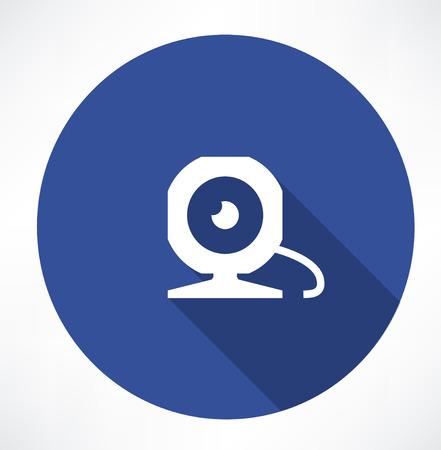 technique: webcam icon Illustration