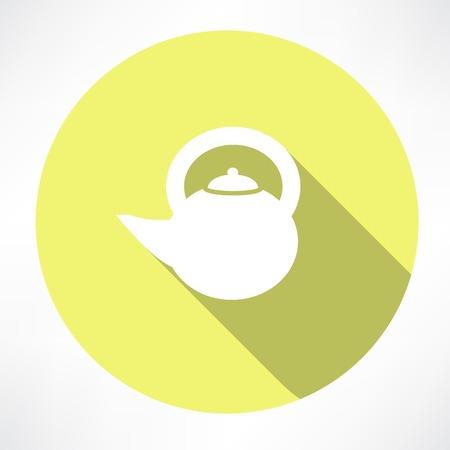 Teapot icon Illustration