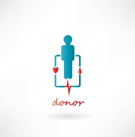 transfuse: Blood Donation Concept Illustration
