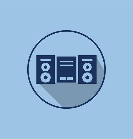 cassette icon Illustration