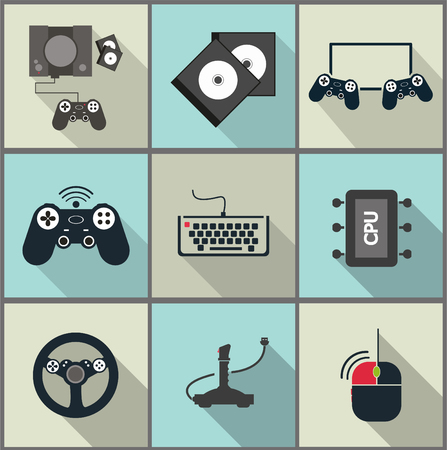 game controller: Game icons