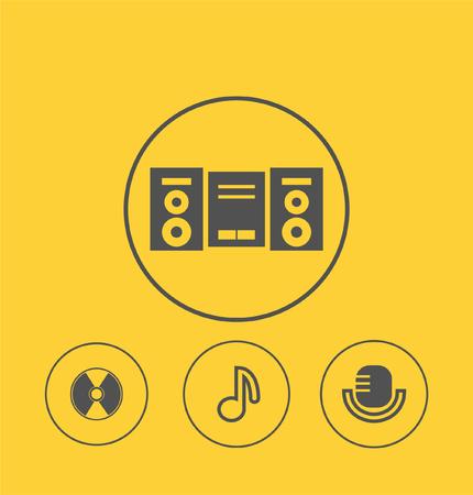crotchets: Music icon