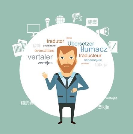 translator illustration