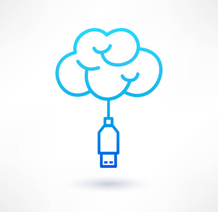 Connecting to the cloud service icon