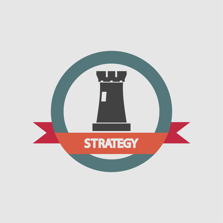strategy tower icon