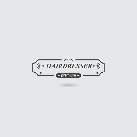 scissors and comb: Hairdresser icon