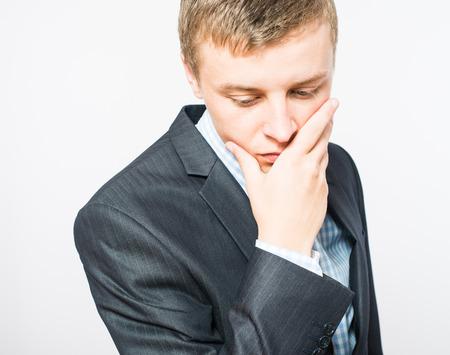 businessman upset